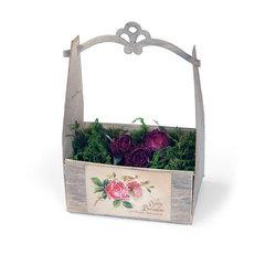 Vintage Rose Crate by Beth Reames