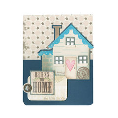 Bless this Home and the Little Things Pop Up Card by Deena Ziegler