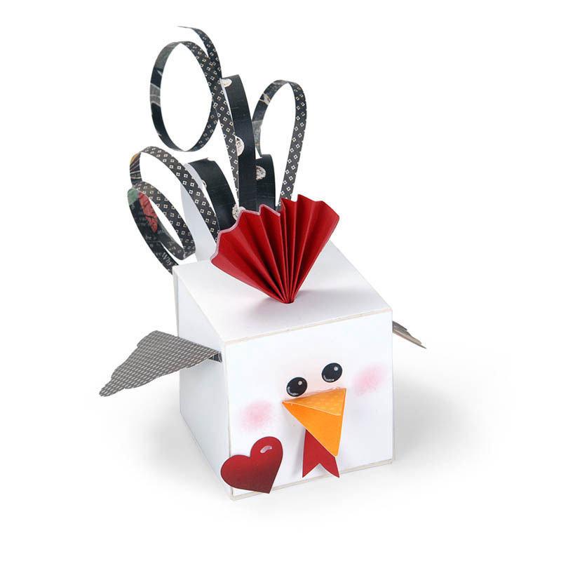 Chicken Favor Box by Debi Adams