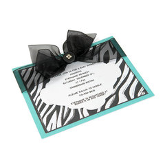 Animal Print Invite by Debi Adams