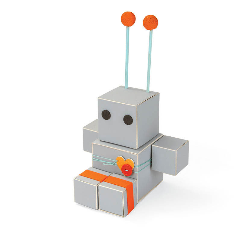Robot Table Favor by Debi Adams
