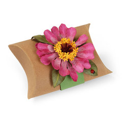 Zinnia Pillow Box by Susan Tierney-Cockburn