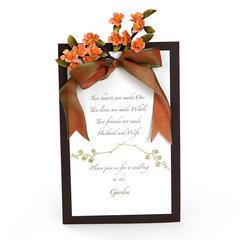 Garden Wedding Invitation by Susan Tierney-Cockburn