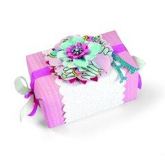 Layered Flowers Gift Box by Brenda Walton