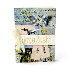 Who What Where Card by Debi Adams