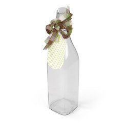 Bottle w/Pear Tag by Beth Reames