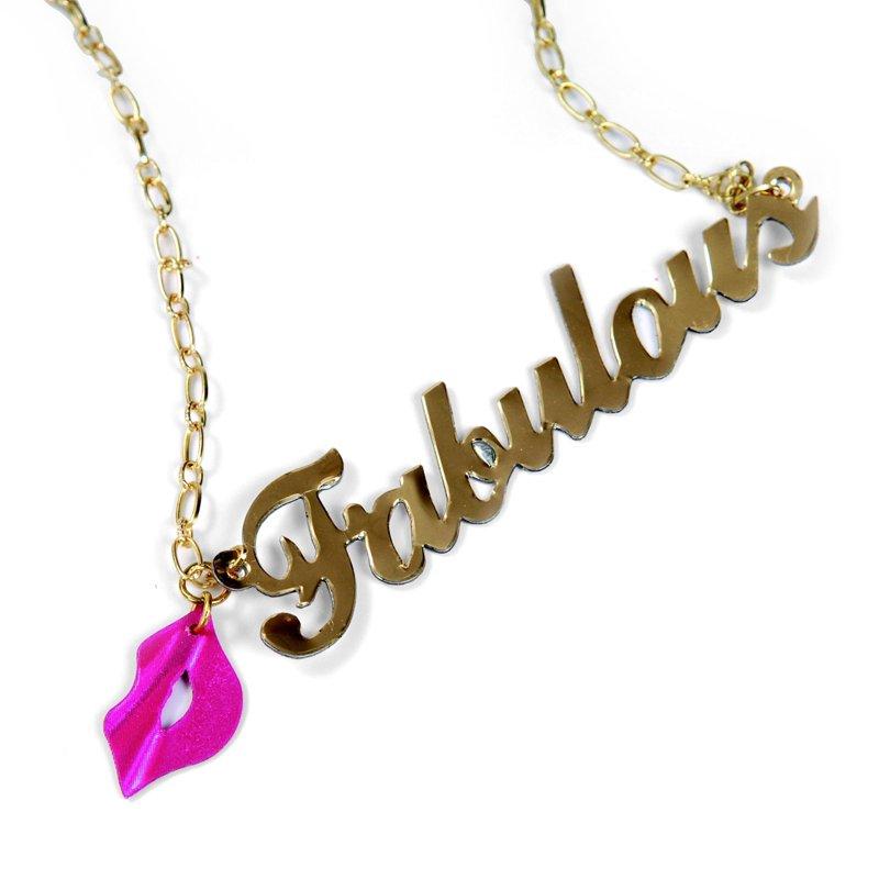 Fabulous Gold Necklace by Debi Adams