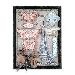 French Flight Card by Tim Holtz