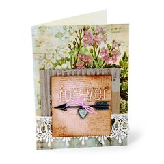 Love You Forever Card by Debi Adams