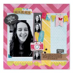Capture the Fun Scrapbook Page by Cara Mariano