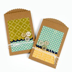 Pocket Envelope by Cara Mariano