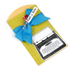Just a Note Pocket Envelope by Cara Mariano