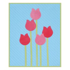 April Showers Bring May Flowers Wall Hanging by Linda Nitzen