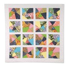Crazy Squares Quilt by Cheryl Adam