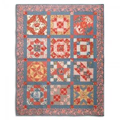La Bouquet Francais Sampler Quilt by Ronda McCord