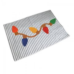 Christmas Lights Tea Towel