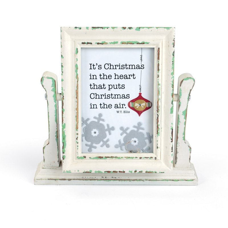 Christmas in the Heart Frame by Deena Ziegler