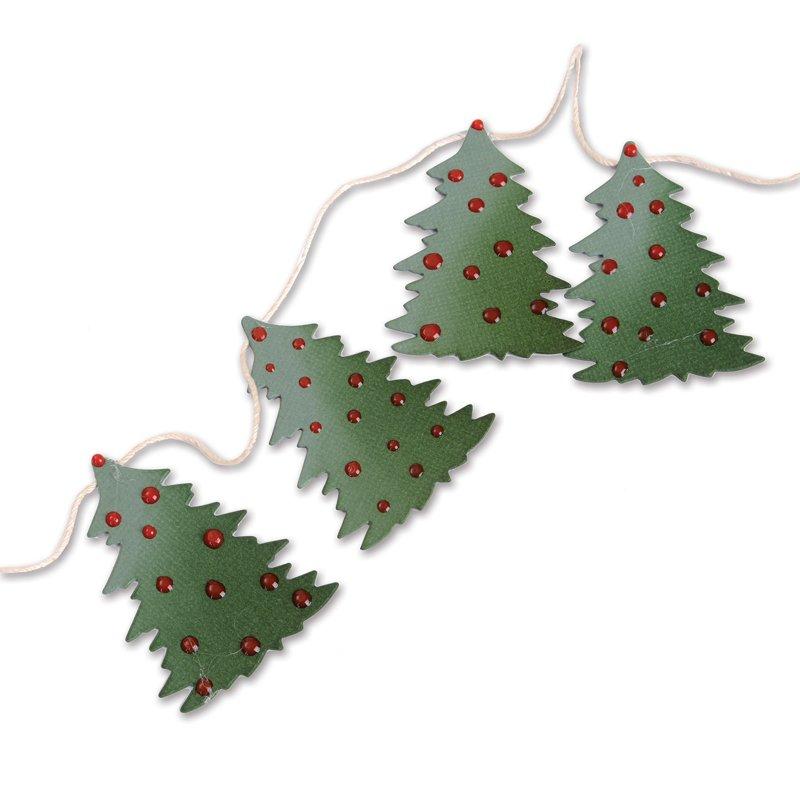 Christmas Tree Garland by Deena Ziegler