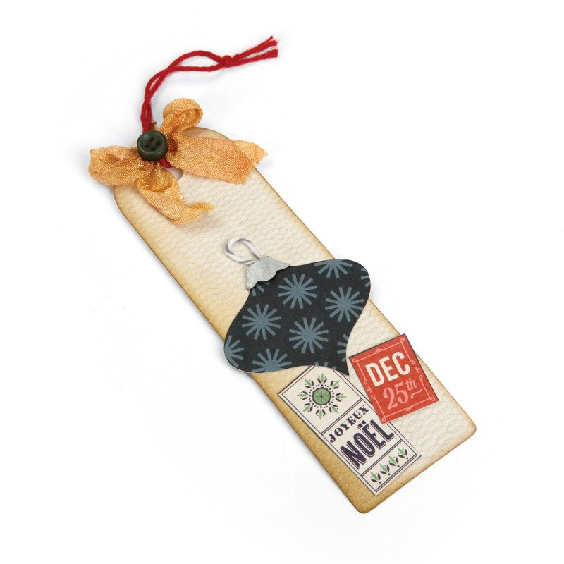 Noel Gift Tag or Bookmark by Deena Ziegler