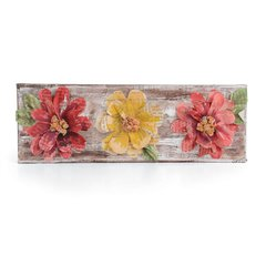 Flowers Wall Decor by Stephanie Ackeman