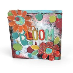 Bloom Flowers Canvas by Stephanie Ackeman