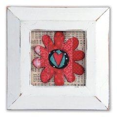 Flower Frame #3 by Stephanie Ackeman