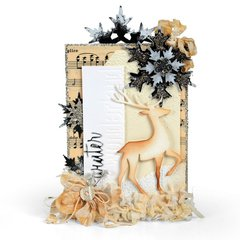 Winter Wonderland Reindeer Card