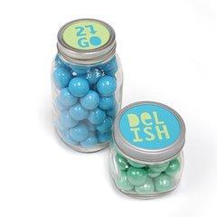 'Delish' and '2Go' Jar Lids by Jo Packham