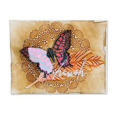 Cherish Butterfly Canvas