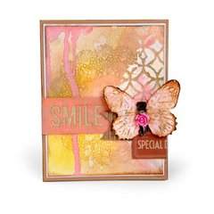 Smile Butterfly Card #2
