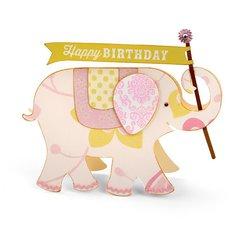 Happy Birthday Elephant Card by Brenda Walton