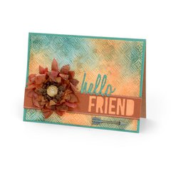 Hello Friend Card #4