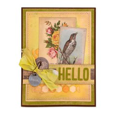 Hello Bird Card #2