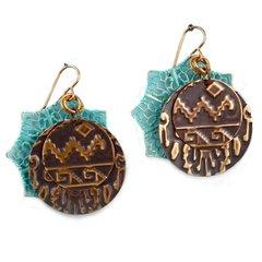 Navajo Filigree Earrings by Jess Italia-Lincoln