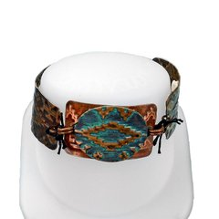 Native Adornment Bracelet by Jess Italia-Lincoln featuring Navajo Textile DecoEmboss Die from Sizzix