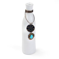 Tranquil Life Necklace by Jess Italia-Lincoln featuring Navajo Textile DecoEmboss Die from Sizzix