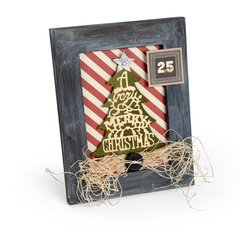 A Very Merry Christmas Frame Card