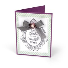 Give Thanks with a Grateful Heart Card