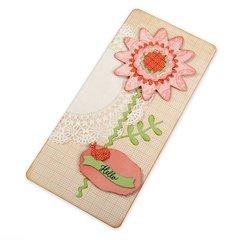 Hello Flower Card #5