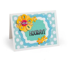 Hooray Flowers Card