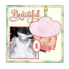 Beautiful Cupcake LO
