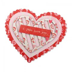 Just Love You Valentine Card