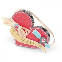 'It Takes Two' Heart Pocket