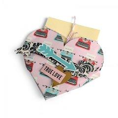 'True Love' Heart Pocket