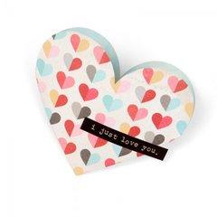 'I Just Love You' Heart Pocket