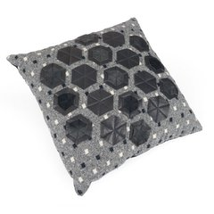 Leather Hex Pillow