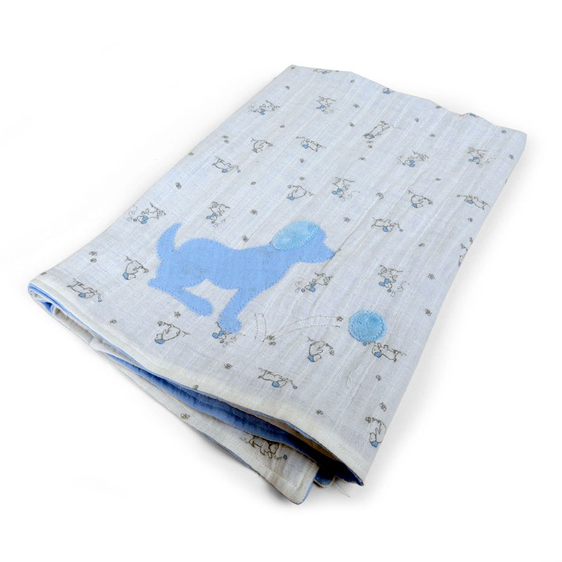 Puppies & Balls Baby Blanket