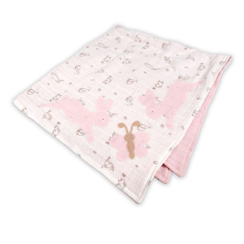 Bunnies & Butterflies Baby Blanket