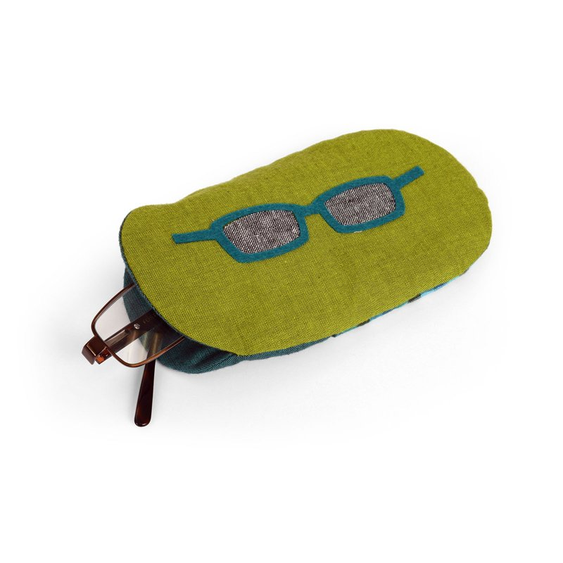 Half Oval Eyeglass Case