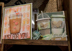 Coffee Inspired Dies from Tim Holtz Alterations by Sizzix